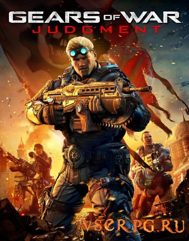 Постер игры Gears of War Judgment