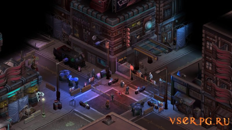 Shadowrun Returns screen 2