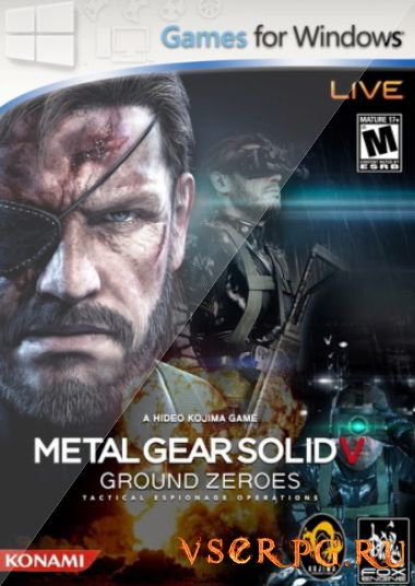 Постер игры Metal Gear Solid 5: Ground Zeroes