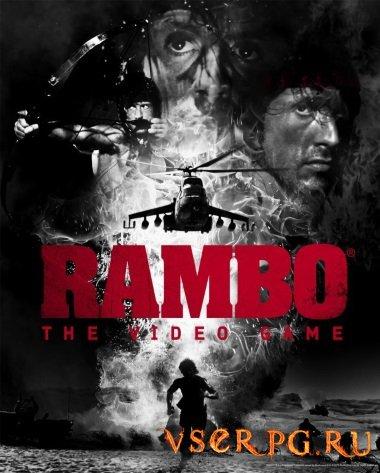 Постер игры Рембо