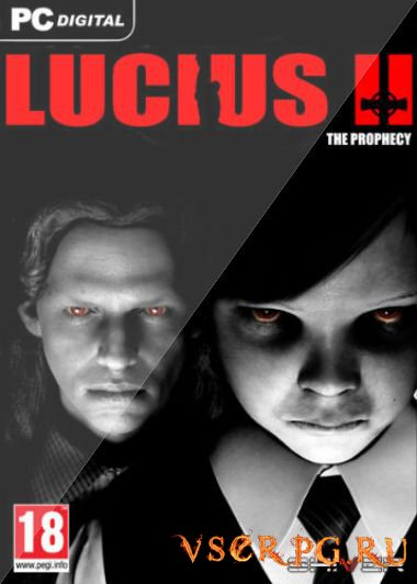 Постер игры Lucius 2: The Prophecy