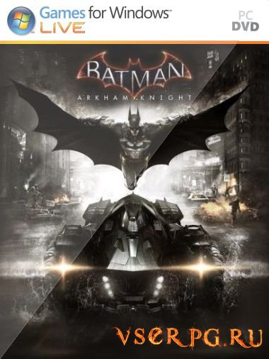 Постер игры Batman: Arkham Knight