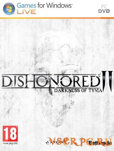 Постер игры Dishonored 2 Darkness of Tyvia [PC]