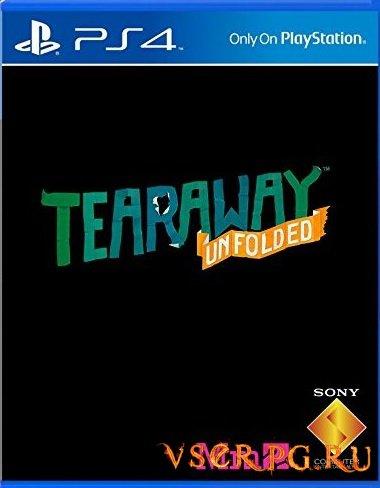 Постер игры Tearaway Unfolded