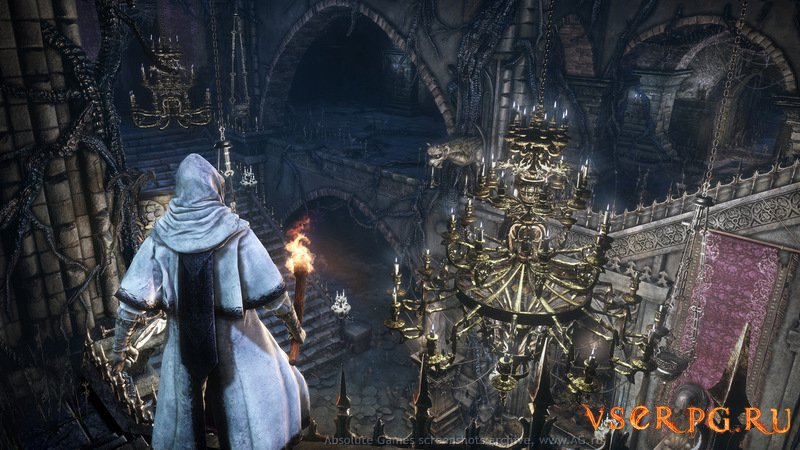 Bloodborne screen 1