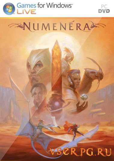 Постер игры Torment Tides of Numenera