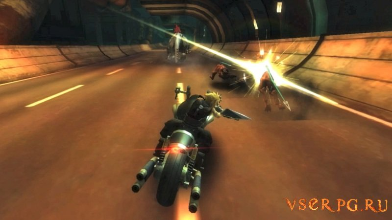 Final Fantasy VII G-Bike screen 1