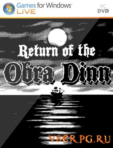 Постер игры Return of the Obra Dinn