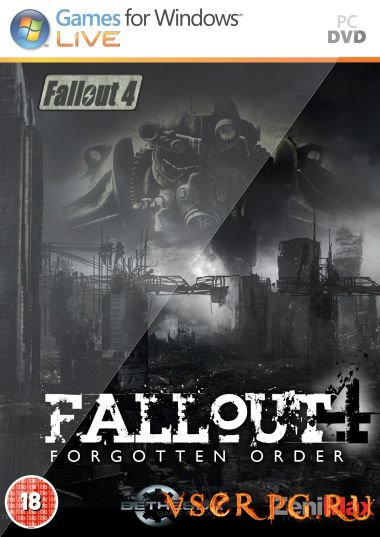 Постер игры Fallout 4