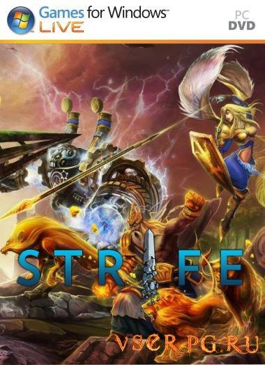 Постер игры Strife