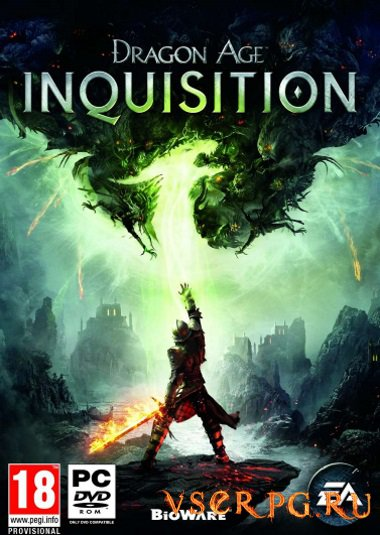 Постер игры Dragon Age Inquisition PC