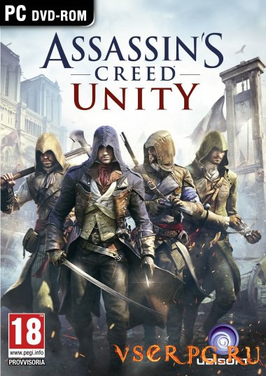 Постер игры Assassins Creed Unity [PC]