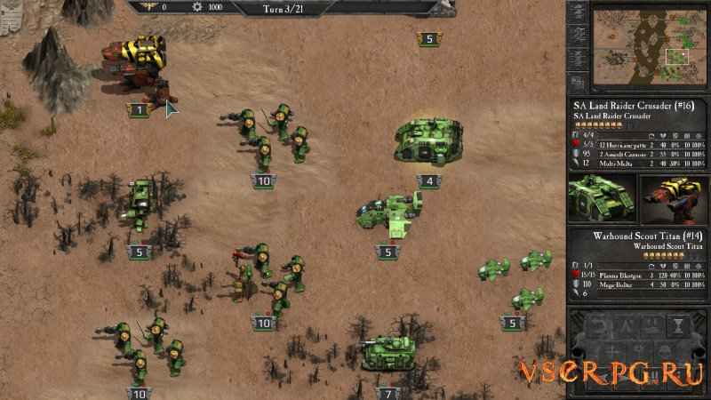 Warhammer 40000 Armageddon screen 2