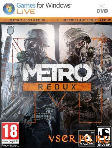 Постер игры Metro Redux