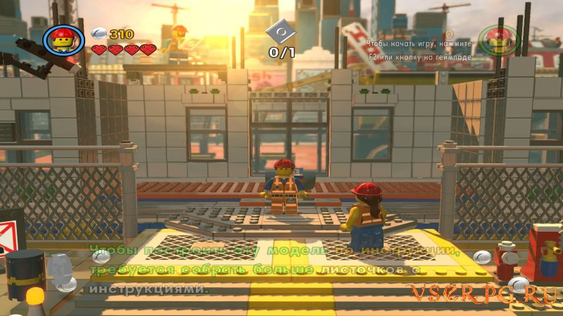 The LEGO Movie Videogame screen 3