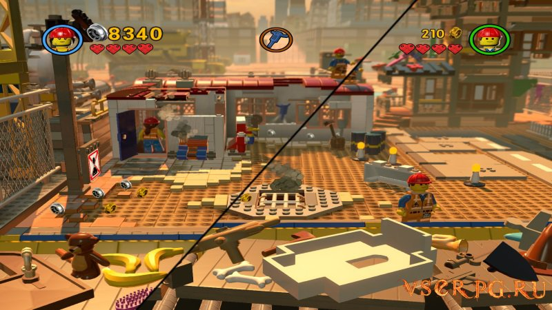 The LEGO Movie Videogame screen 2