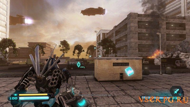 Трансформеры: Битва за Темную искру screen 3