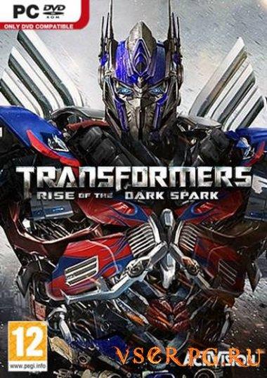 Постер игры Трансформеры: Битва за Темную искру