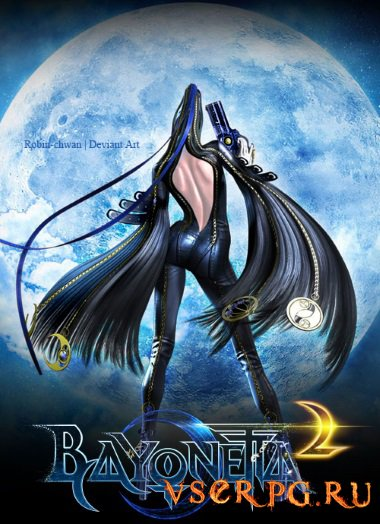Постер игры Bayonetta 2