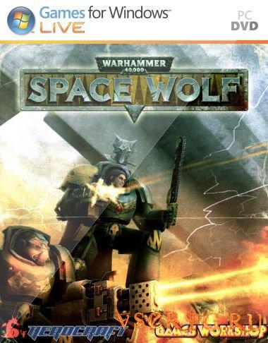 Постер игры Warhammer 40000 Space Wolf