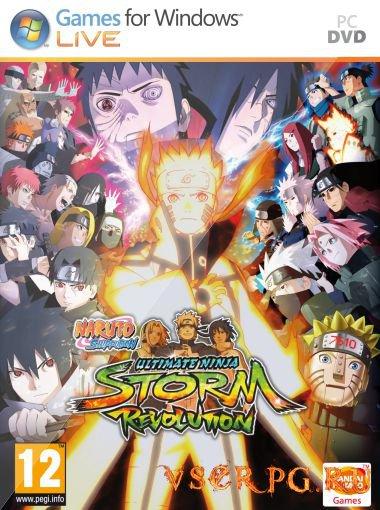 Постер Naruto Shippuden Ultimate Ninja Storm Revolution