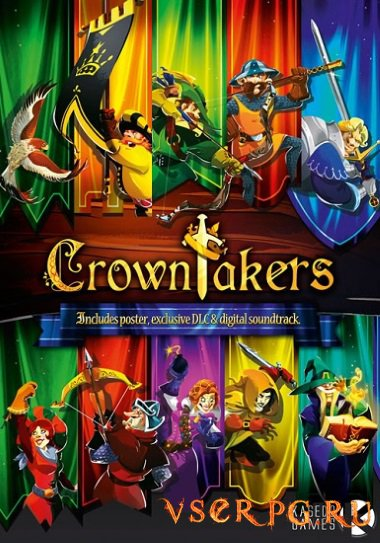 Постер игры Crowntakers