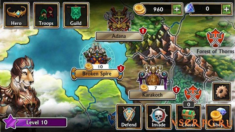 Gems of War screen 3