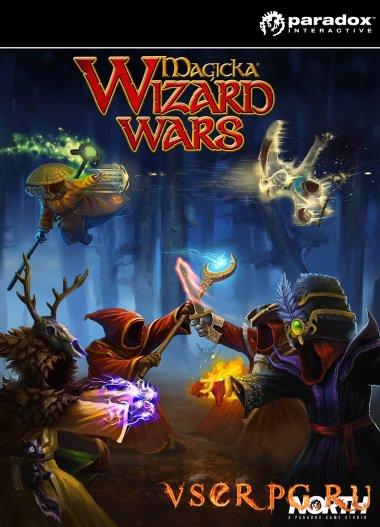 Постер игры Magicka Wizard Wars