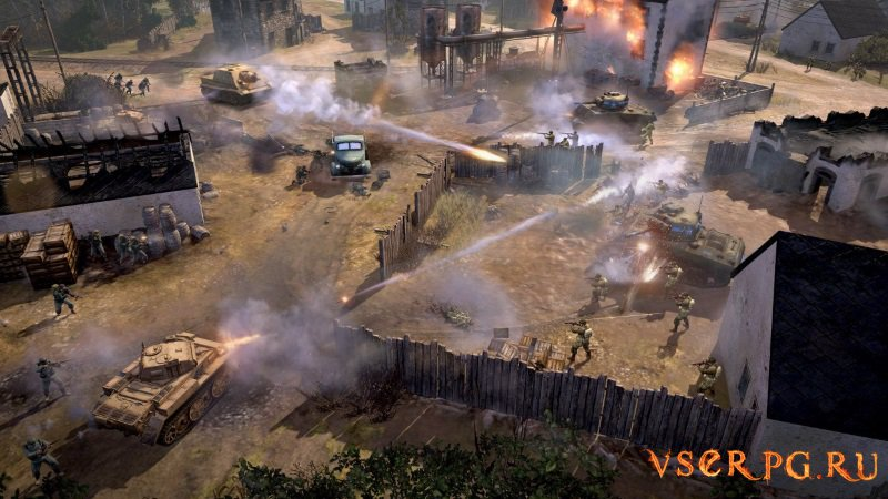 Company of Heroes 2 The Western Front Armies screen 1