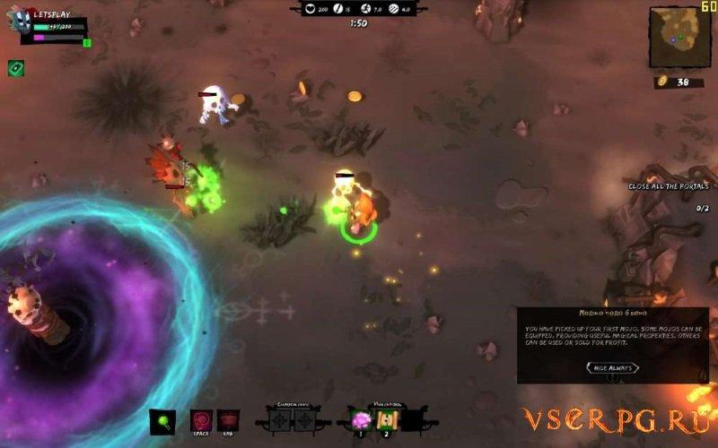 Full Mojo Rampage screen 1