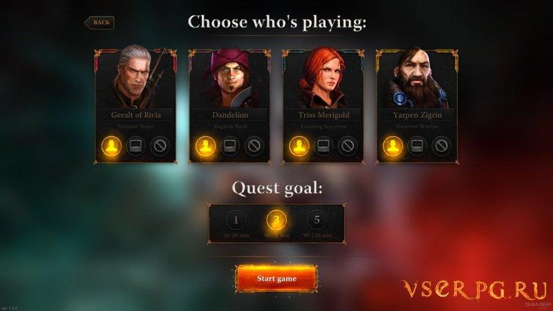 Ведьмак: Приключенческая игра screen 1