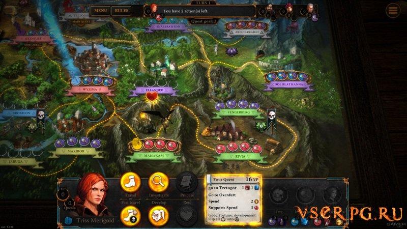 Ведьмак: Приключенческая игра screen 2