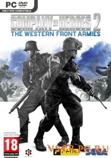 Постер игры Company of Heroes 2 The Western Front Armies