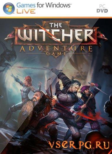 Постер игры Ведьмак: Приключенческая игра