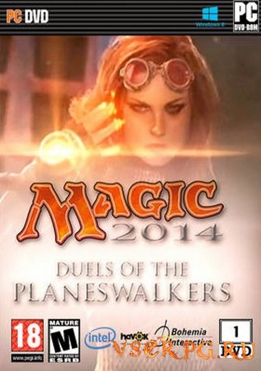Постер игры Duels of the Planeswalkers