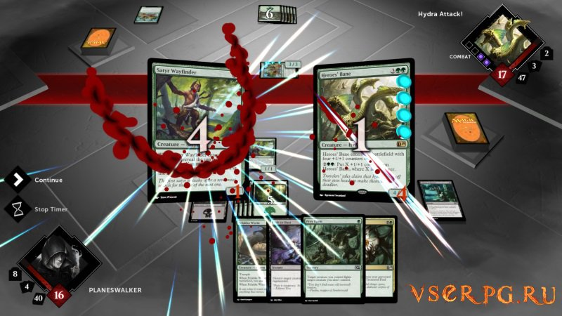 Duels of the Planeswalkers screen 1
