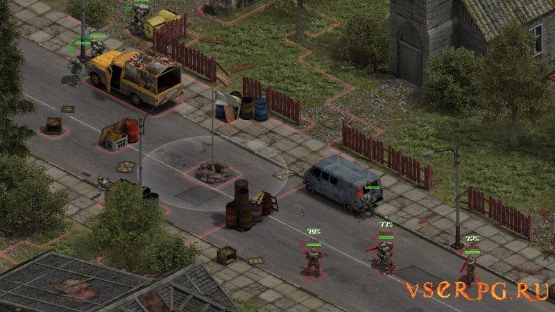 Affected Zone Tactics screen 1