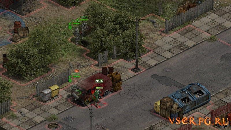 Affected Zone Tactics screen 3