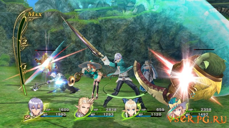 Shining Resonance screen 2