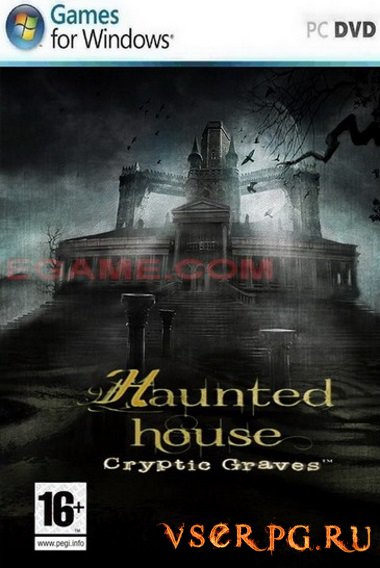 Постер игры Haunted House Cryptic Graves