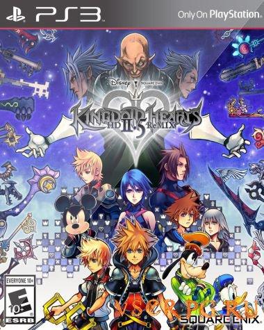 Постер игры Kingdom Hearts HD 2.5 ReMIX