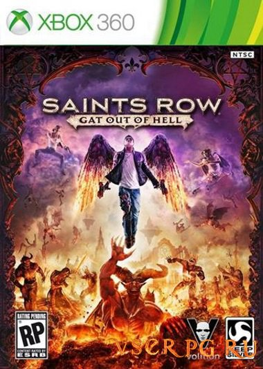 Постер игры Saints Row Gat Out of Hell [Xbox 360]