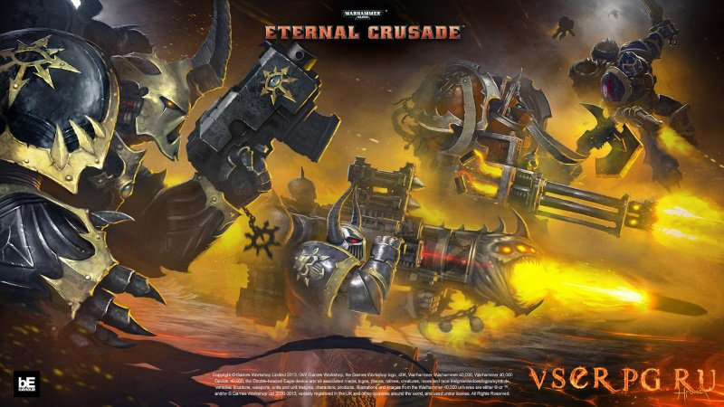 Warhammer 40 000 Eternal Crusade screen 1