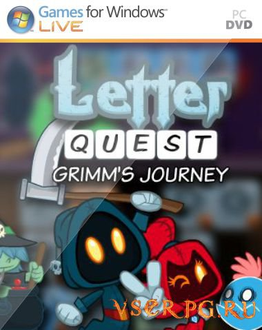 Постер игры Letter Quest Grimm's Journey