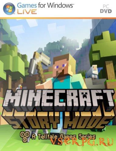 Постер игры Minecraft Story Mode