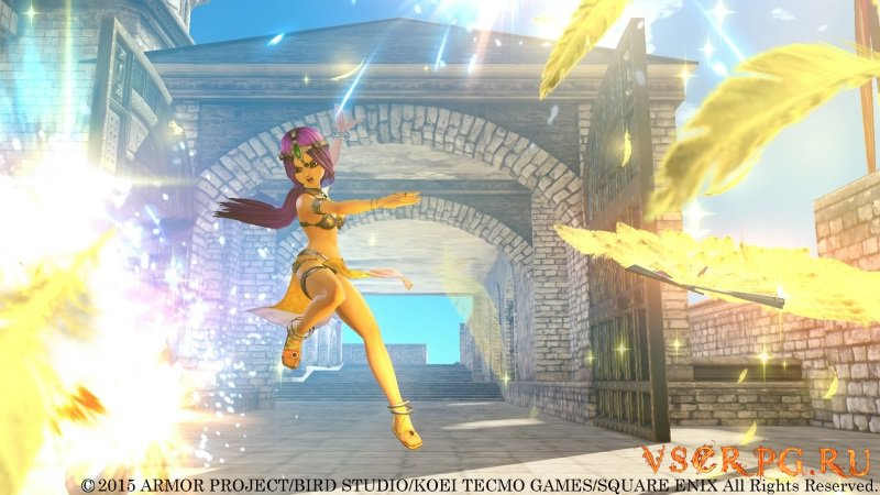 Dragon Quest Heroes screen 1