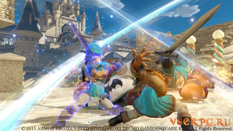 Dragon Quest Heroes screen 2