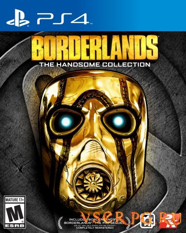 Постер игры Borderlands The Handsome Collection [PS4]