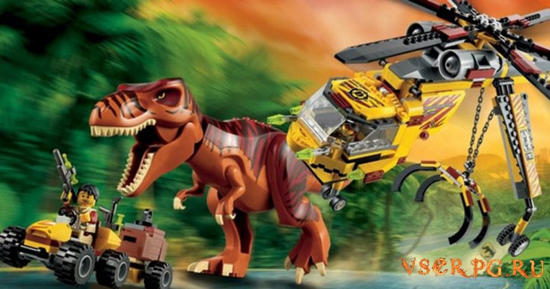 LEGO Jurassic World screen 1