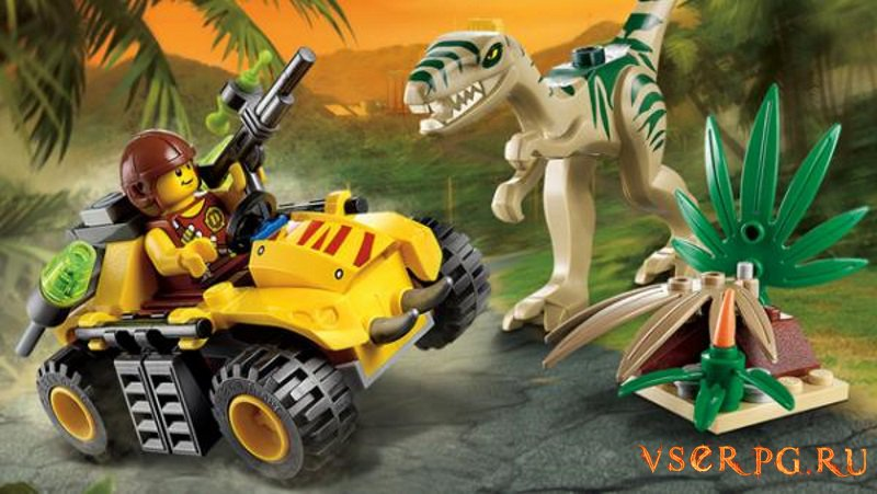 LEGO Jurassic World screen 2